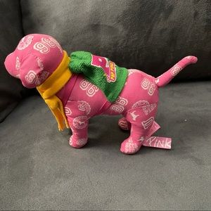 Victoria Secret Pink dog with scarf